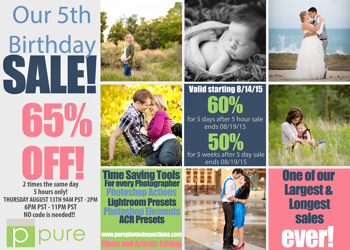 Our Yearly Birthday Sale!!