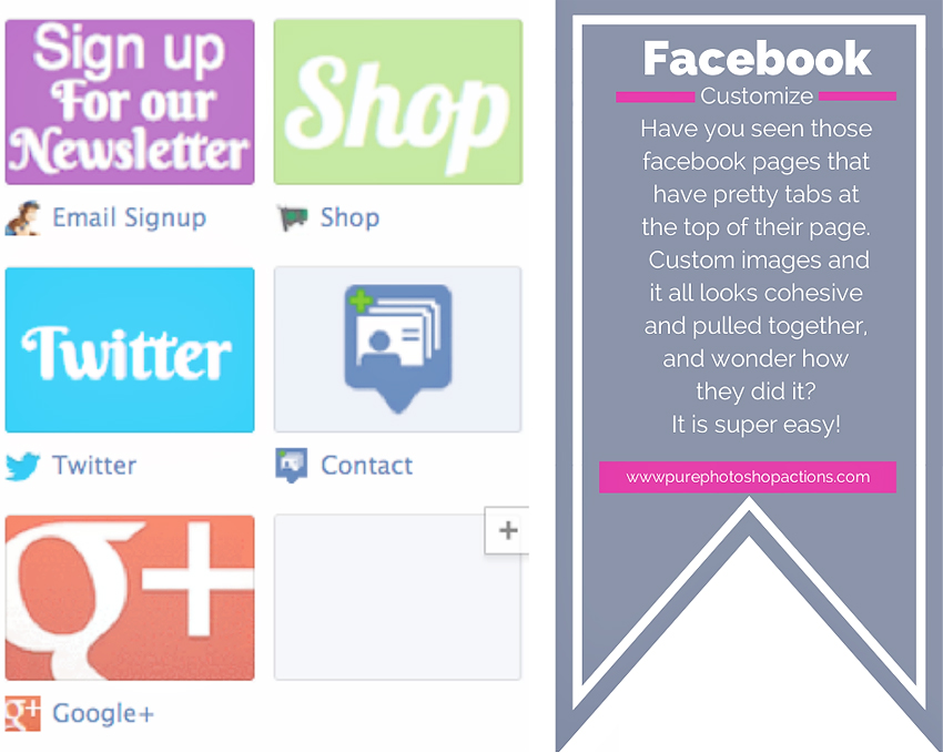 Customize your facebook fan page