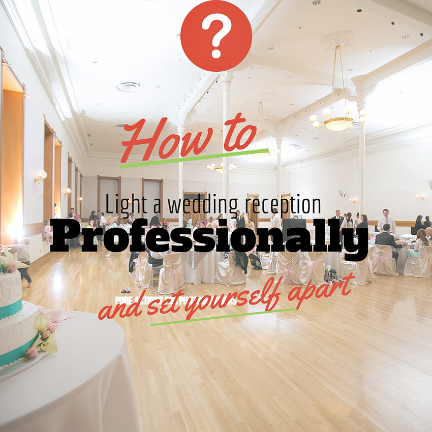 Setting Yourself Apart with Professional Lighting